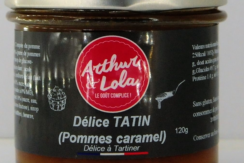 Délice Tatin (Pommes caramel)