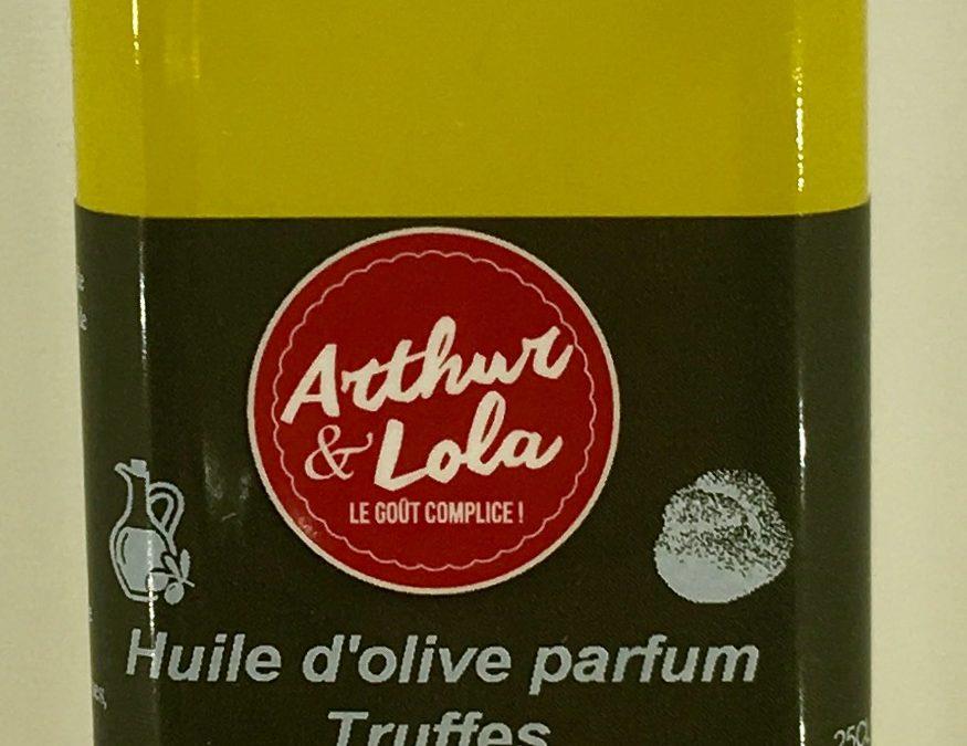 Huile d'olive parfum truffes
